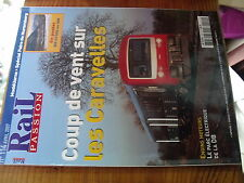 µ?. Revue Rail Passion n°114 Caravelles BB 67300 Nuits sous Ravieres -Chatillon