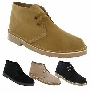 Mens-New-Suede-Leather-Desert-Boots-Shoes-3-12