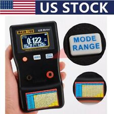 Professional V2 0001 To 100r Auto Ranging In Circuit Esr Capacitor Tester Meter