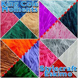 MOMENTS-ESKIMO-FUNKY-FUR-DK-Fluffy-Furry-Eyelash-Knitting-Yarn-50g-Ball