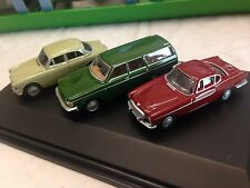 1/76 3 Car Volvo Gift Set P1800 Volvo Amazon and 245 Wagon Oxford Swansea Wales