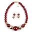 Fashion-Boho-Crystal-Pendant-Choker-Chain-Statement-Necklace-Earrings-Jewelry thumbnail 38