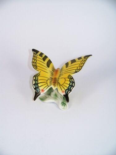 Figuren Schmetterlinge PORZELLAN FIGUR SCHMETTERLING Schwalbenschwanz Marke neu