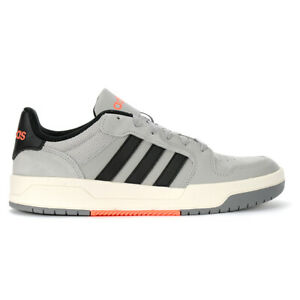Adidas Men's Entrap Grey Two/Core Black/Cloud White Running Shoes EG4324 NEW