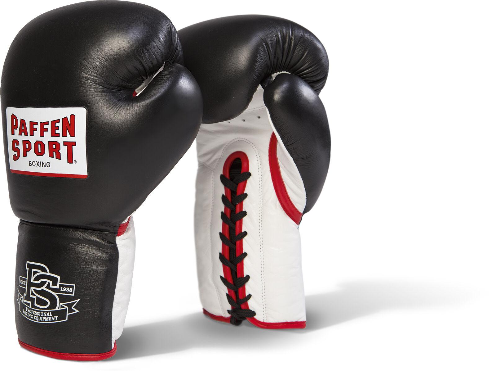 Paffen Sport Pro Heavy Hitter. Boxhandschuhe. Sparring. 14-20oz, Bestees Leder.