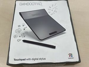 Wacom-Cth-301K-Bamboo-Pad-Light-Touchpad-With-Digital-Stylus-Boxed