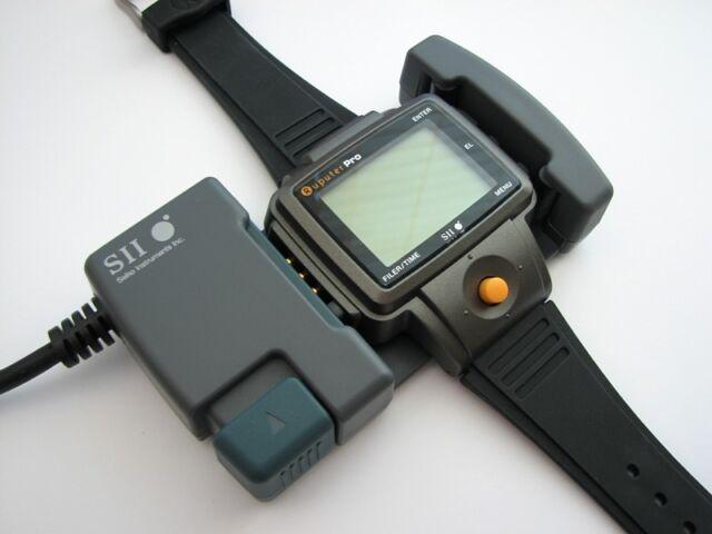 RARE NIB Vintage NOS █ Seiko Ruputer PRO 2Mb LCD wrist computer watch