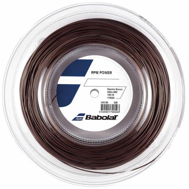 Babolat RPM Blast 16G 1.30mm 660ft 200m Tennis String Reel