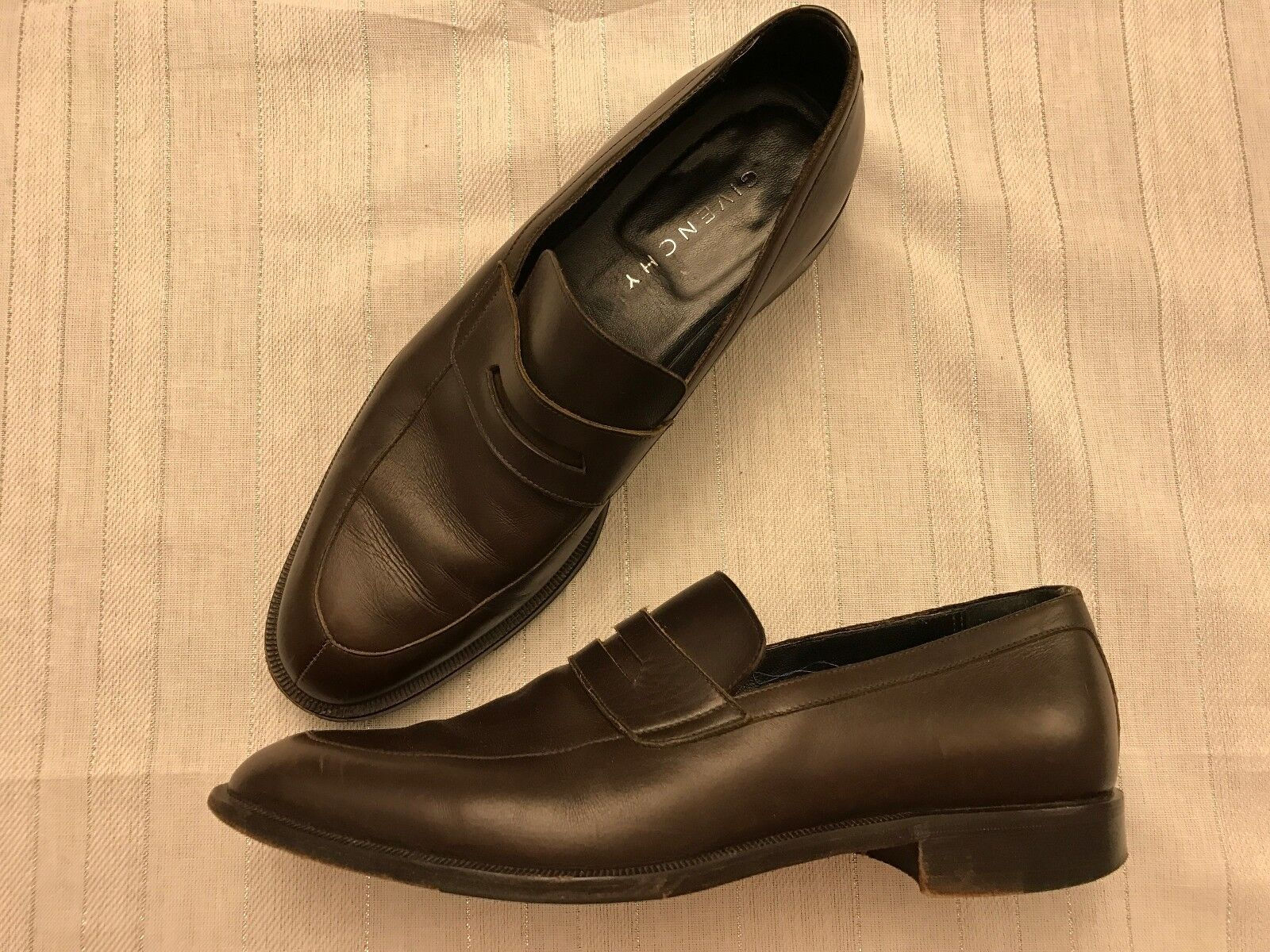 Givenchy (Authentic) Dress shoes Men's size 43 EURO, Size 10 US Brown - USED