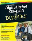 Canon EOS Digital Rebel XSi/450D For Dummies by Julie Adair King (Paperback, 2008)