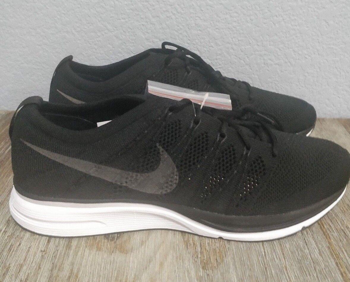 Nike Flyknit Trainer Black Black-White AH8396-007