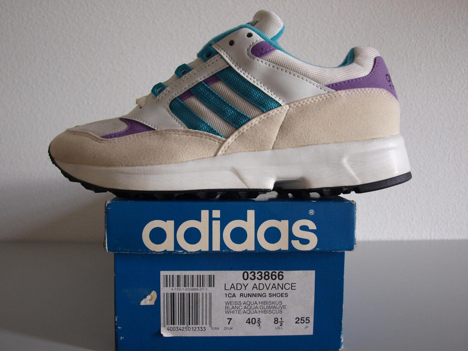 Adidas Torsión Dama Advance Raro Vintage US 7.5 /3 Raro Advance Nuevo Y En Caja 932f7f