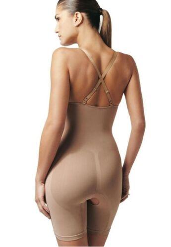Bodysuit  Anti Cellulite  SEAMLESS Blac SCALA BioPromise Long Body Shaper Suit