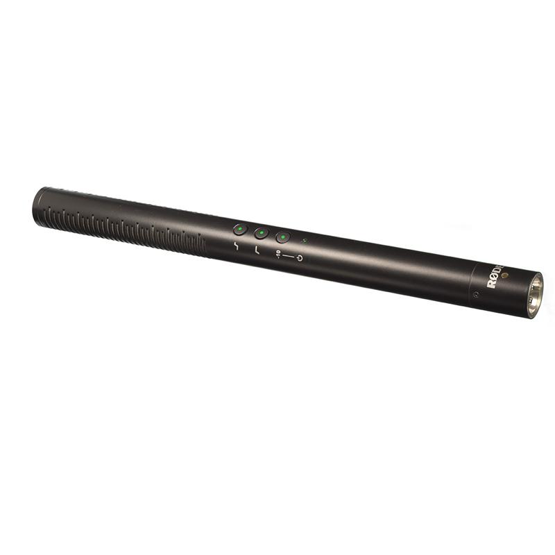 RODE NTG4+ microfono a condensatore alimenteabile anche a batteria