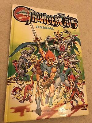 ** Thundercats Uk Libro Rilegato Annuale Ottime Condizioni **-mostra Il Titolo Originale Valore Eccezionale