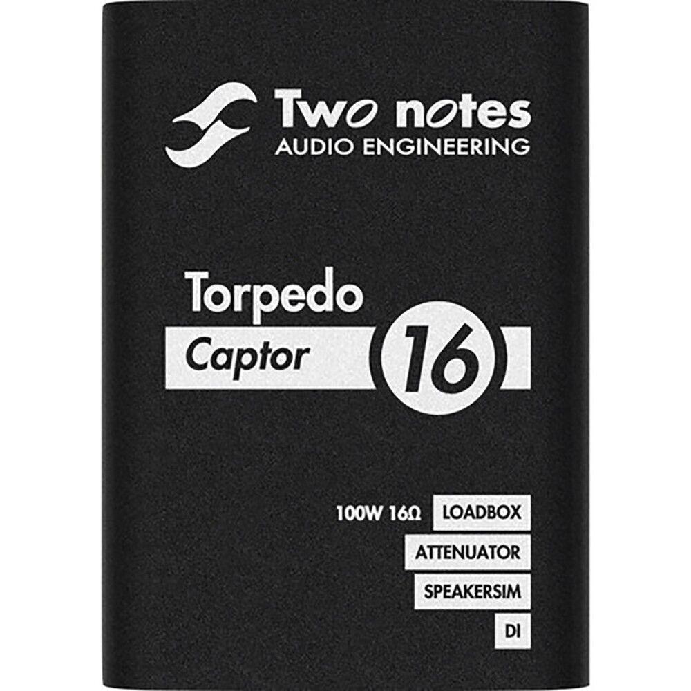 Two Notes Audio Engineering Torpedo Captor Reactive Loadbox DI Attenuator 16-ohm