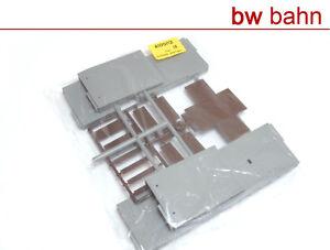 Kibri-H0-Bausatz-4100-12-Ausstattung-Bahnsteig-Rampe-Neu