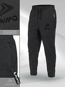 Pimd Prime Black Slim Fit Sports Gym Pants Jogging Running Sweatpants Fitness Fine Quality Activewear Bottoms