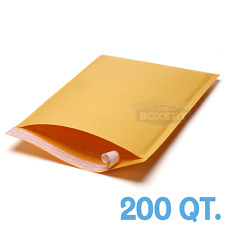 200 4 95 X 145 Kraft Bubble Padded Envelopes Mailers From The Boxery