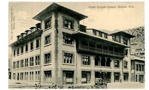 Bisbee-Arizona-AZ-HOTEL-COPPER-QUEEN-Postcard