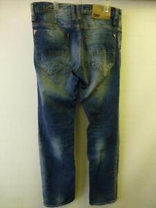 Fly 32 34 Denim Morato Button Antony Jeans Am Designer X Blue Distressed Uomo Uq7Owpx