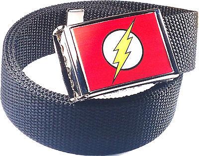 The Flash Comic Web Belt Red