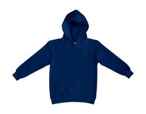 Kinder Kapuzenpulli Hoodie dunkelblau Größe 140