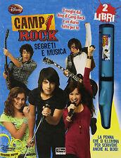 Camp rock. Segreti e musica. Con gadget - Disney libri - Nuovo in offerta!