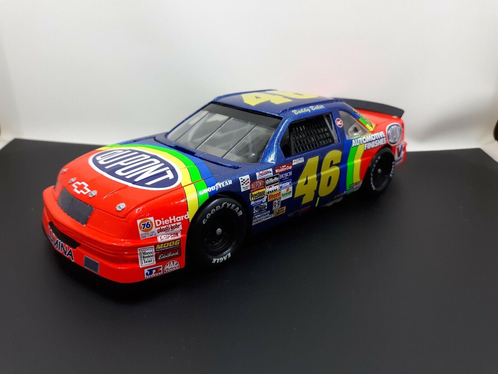 Raro 1993 Buddy Baker Dupont Copa NASCAR 1 24 Revell Diecast Personalizada Chevy dnq