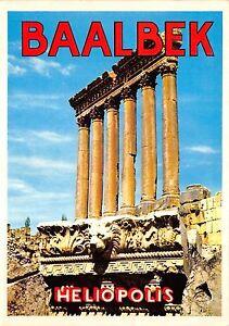 B52518 Lebanon Baalbeeck the Six Columns of the Jupiter temple