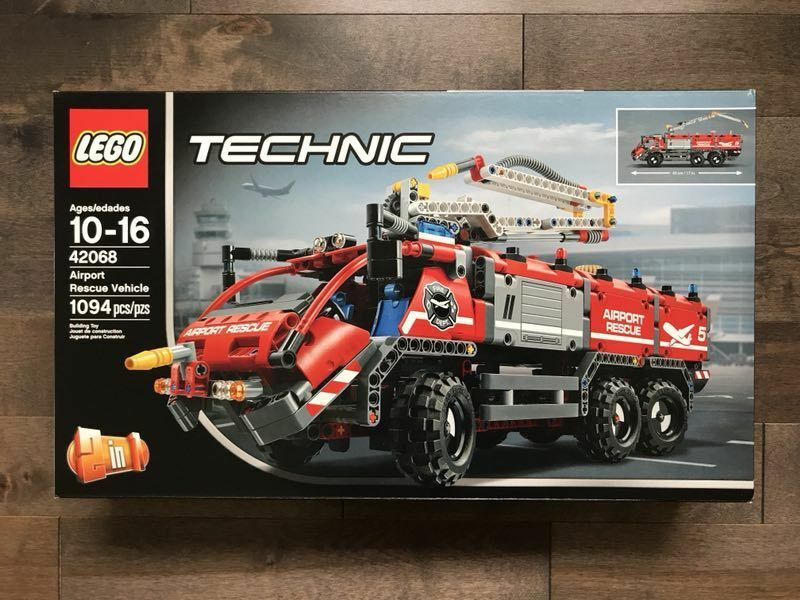 LEGO Technic Airport Rescue fordon byggnad Kit, 1094 Bit