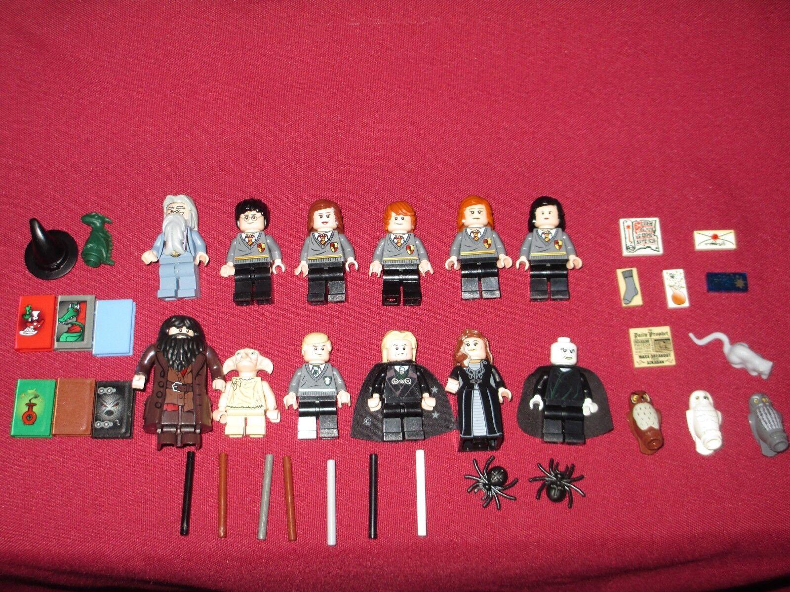 LEGO HARRY POTTER Mini Figurines Lot Dumbledore, Voldemort,  Hagrid, LUCIUS, Narcissa +  pour vous offrir un shopping en ligne agréable