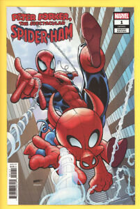 Spider-Ham-1-Will-Robson-1-25-Incentive-Variant-NM-2020