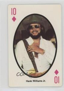 Details about 1982 The Best of Country Music Playing Cards #10D Hank  Williams Jr Card 0w6