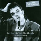 Live at Rockpalast 1978 by Ian Dury & the Blockheads (CD, Jul-2012, Made in Germany)