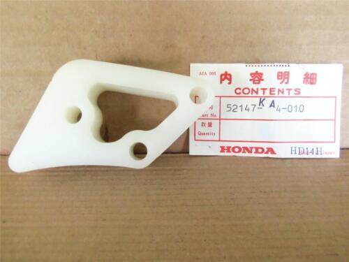 52147-KA4-010 **NOS HONDA CR125-250-450 CHAIN GUIDE SLIDER /'81