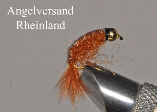 #14 selectable by Angel Shipping Rhineland 3 GK-Bach Flea Crayfish Brown Tungsten #10