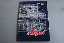X218 LILIPUT Train catalogue Ho Hoe 1977 66 pages 29,7*21 cm F ANG D