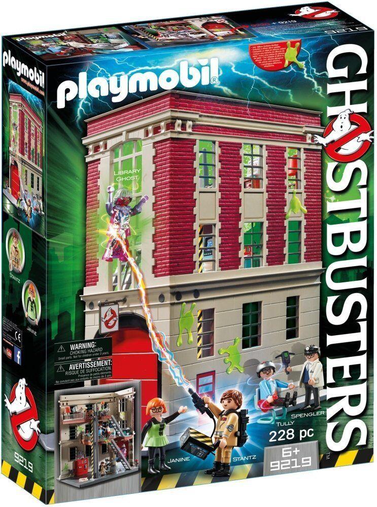 Playmobil Ghostbuster 9219 - Siège social Parc de Pompier - Nouvelle et Scellé
