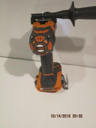 "RIDGID R86008 18V X4 Compact 1//2/"" Drill//Driver W//Side Handle/&BELT CLIP NWOB FSHP"