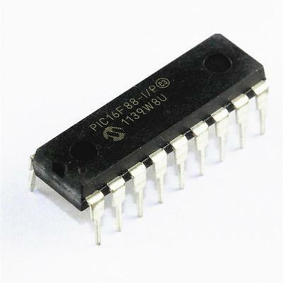 1PCS PIC16F88-I/P PIC16F88 IC MCU 8BIT 7KB FLASH DIP-18 NEW