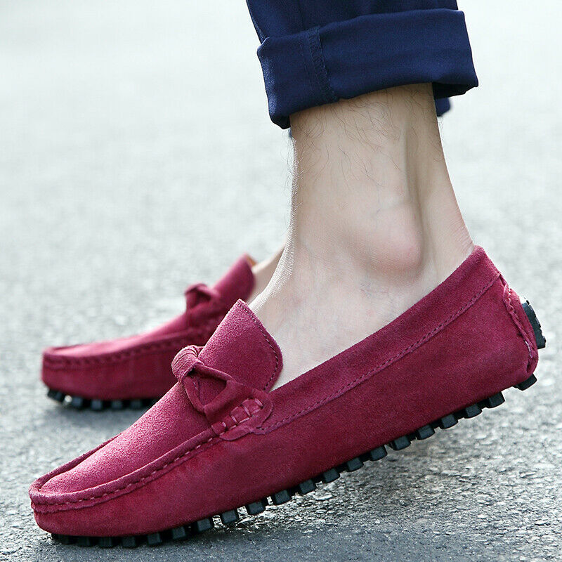 Loafers Mens Casual shoes Gommino Rope Slip On Comfort Drive Moccasins Leisure