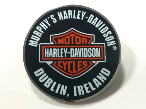 Murphy's Harley-Davidson Dublin Custom Round Bar and Shield PIn