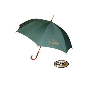 Jaguar-Town-Umbrella-24-034-in-Green-with-Jaguar-logo