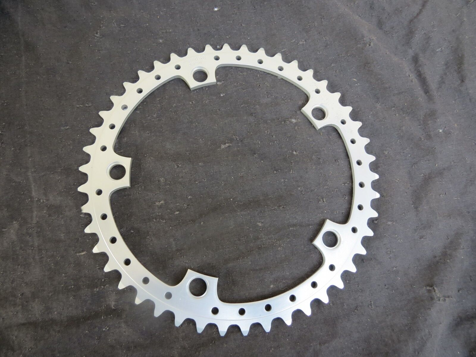 144 BCD SUGINO DRILLED  CHAINRING 46 BMX CRUISER RACING FREESTYLE BICYCLE VINTAGE  hastened to see