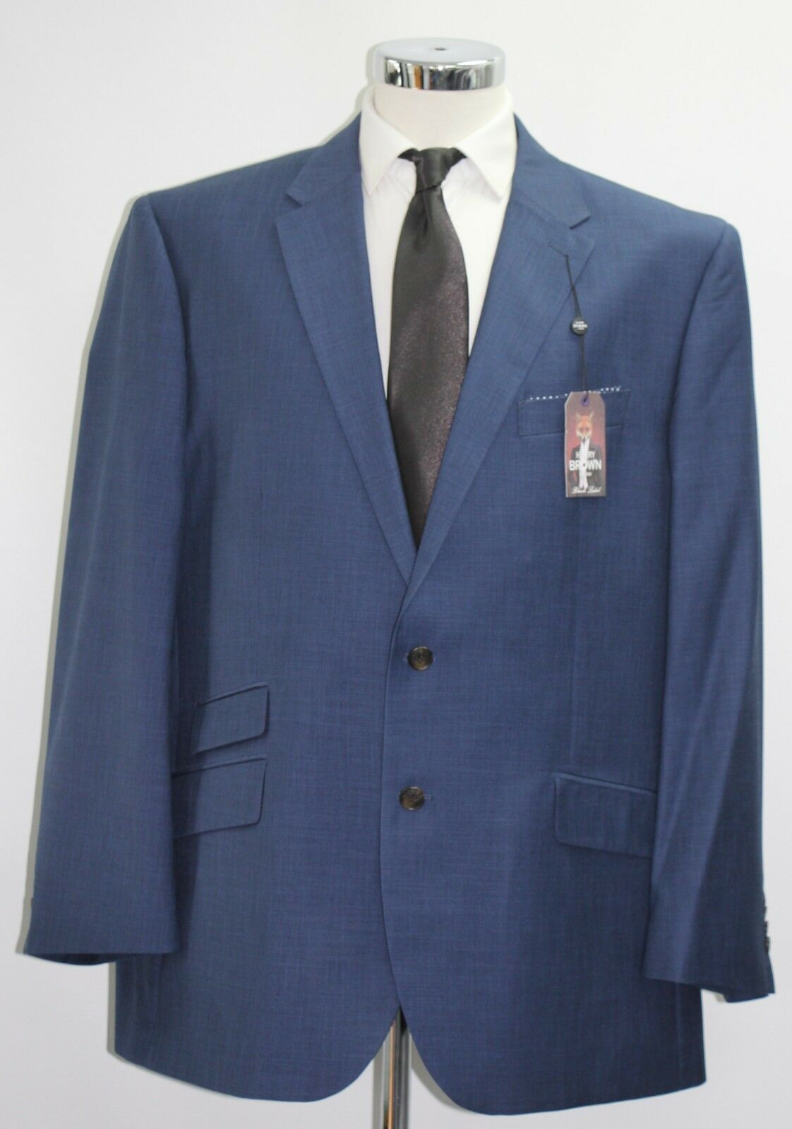 Men's Harry Brown, Tailored fit bluee 2pc suit (52881 7812)