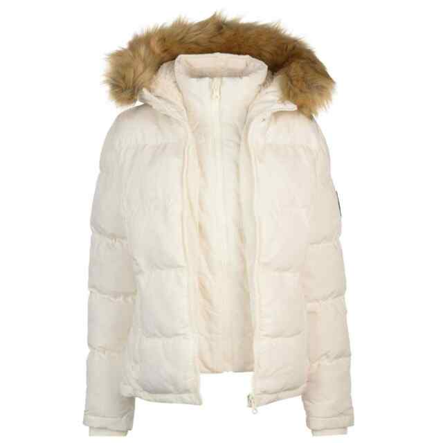 Ladies Short Parka Coat