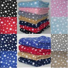 Polar Fleece Anti Pill Fabric Premium Quality Soft Twinkle Star Print PF227