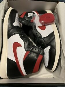 newest 5eb2a f5773 Details about NEW NIKE AIR JORDAN 1 RETRO HIGH OG GYM RED Size 10.5 With  DTLR Receipt