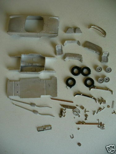 Sunbeam Tiger in 1 43rd scale kit by K & R Replicas